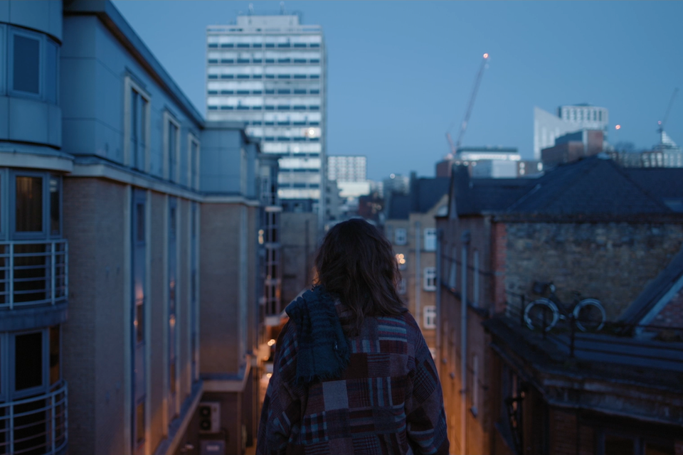 Hazal (Short Film) rooftop