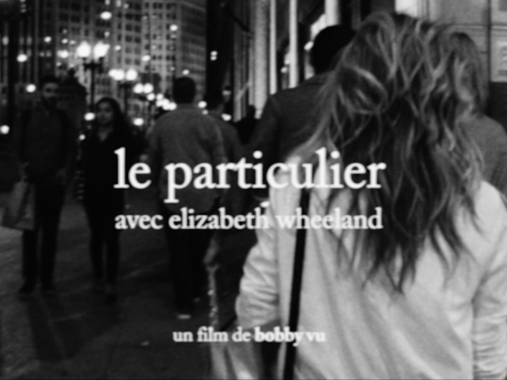 Le Particulier (2016) Mini Film