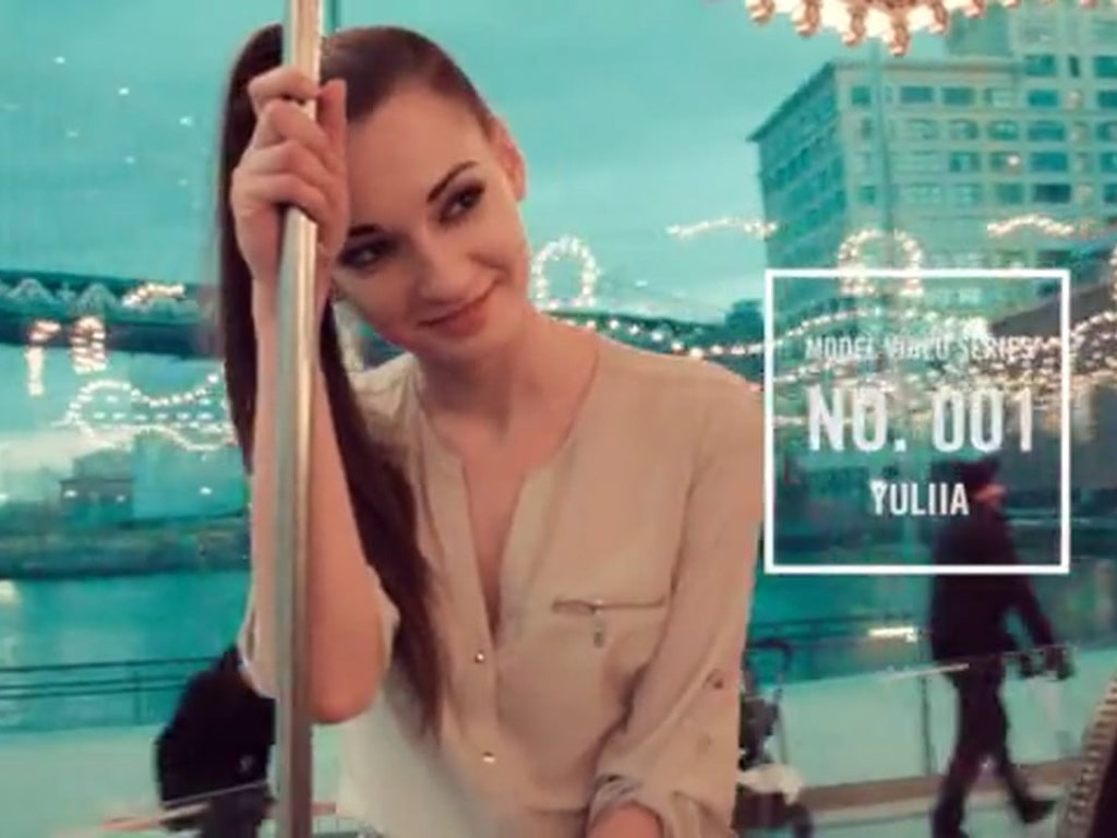 Model Video Series: 001 with Yuliia
