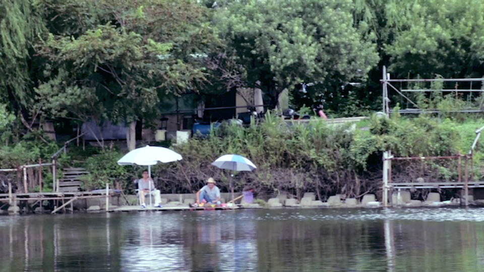 "Short Film - You can't see them from city side,  you can only see from river side. / PEOPLE IN RIVERSIDE (2017/Japan/color/stereo/0'58"")"