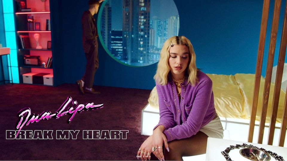 Dua Lipa - Break My Heart
