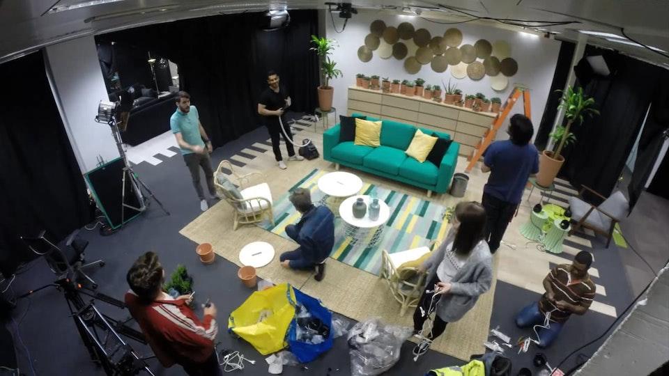 IKEA El salón de - Making Of Making Of IKEA - Ana Locking