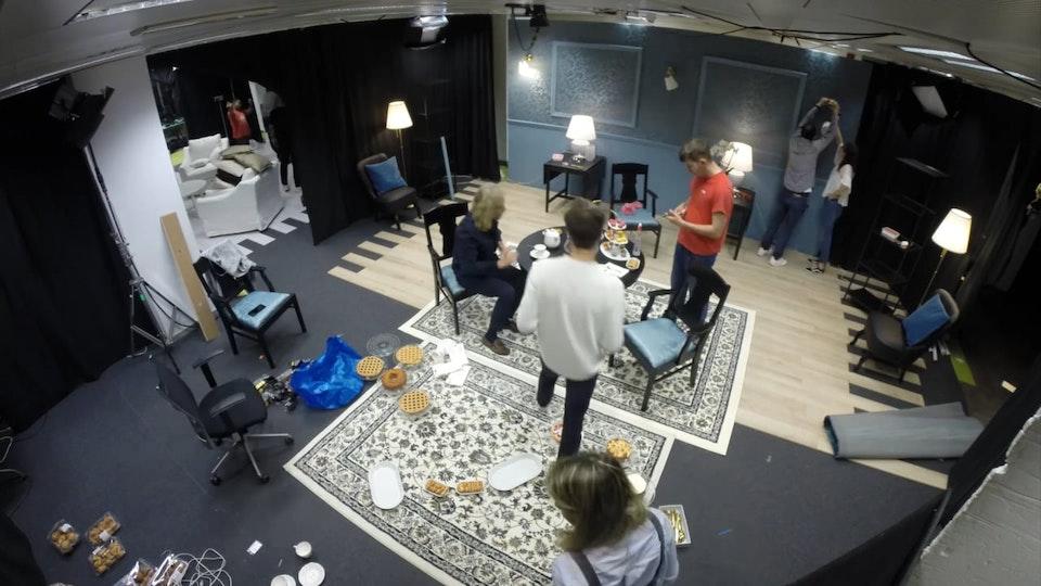 IKEA El salón de - Making Of Making Of IKEA - Carmen Lomana