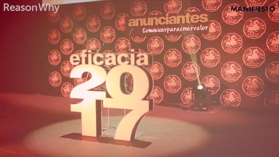 Ruben Esperanza - 2017 Eficacia Awards