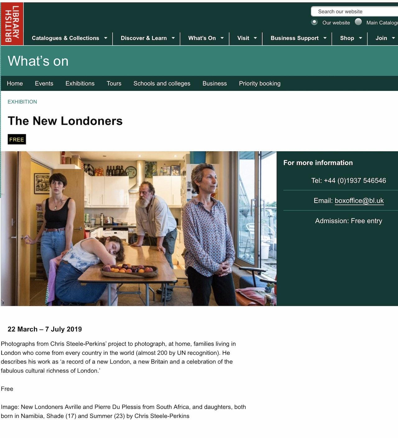 British Library Exhibition 22 Mar-7 July