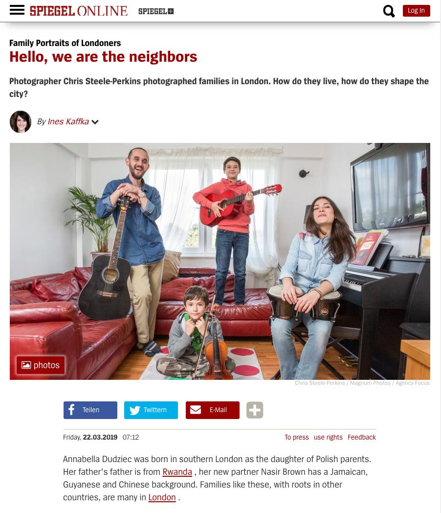 Spiegel Online Magazine