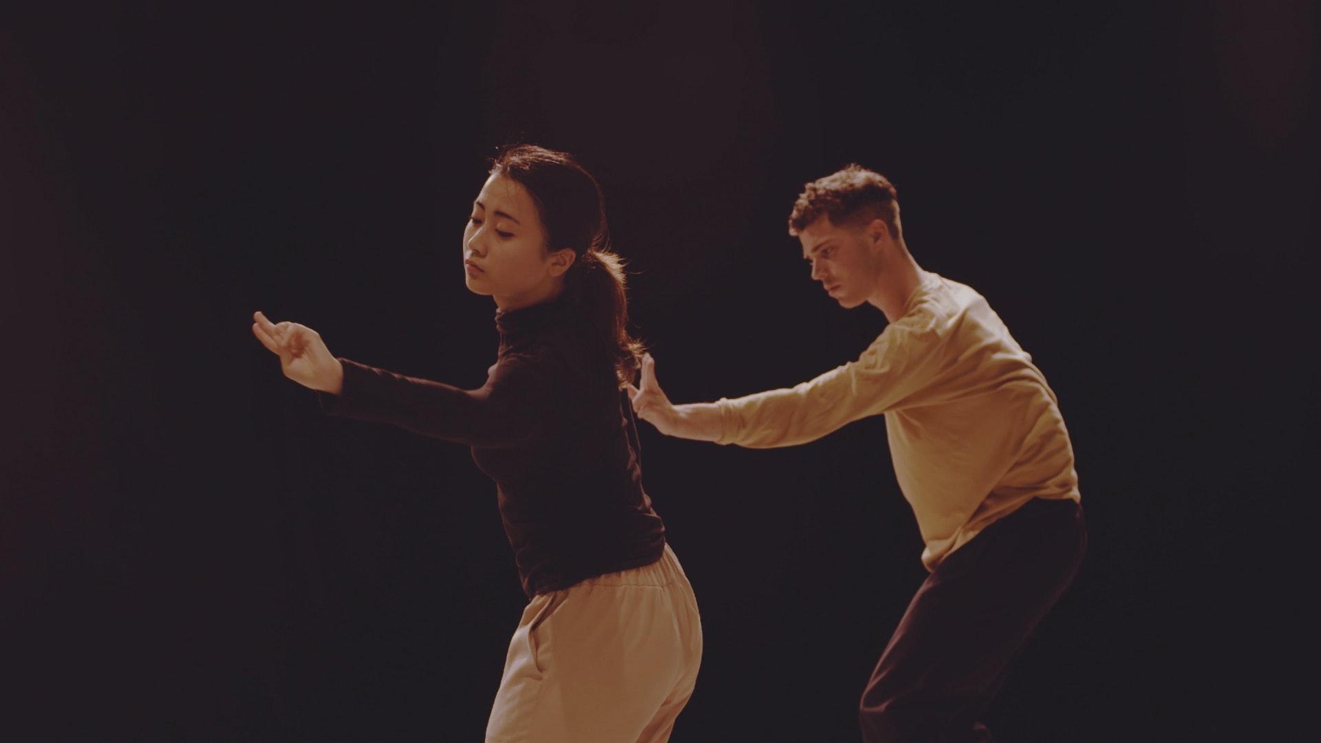 Rambert Dance School Rehearses