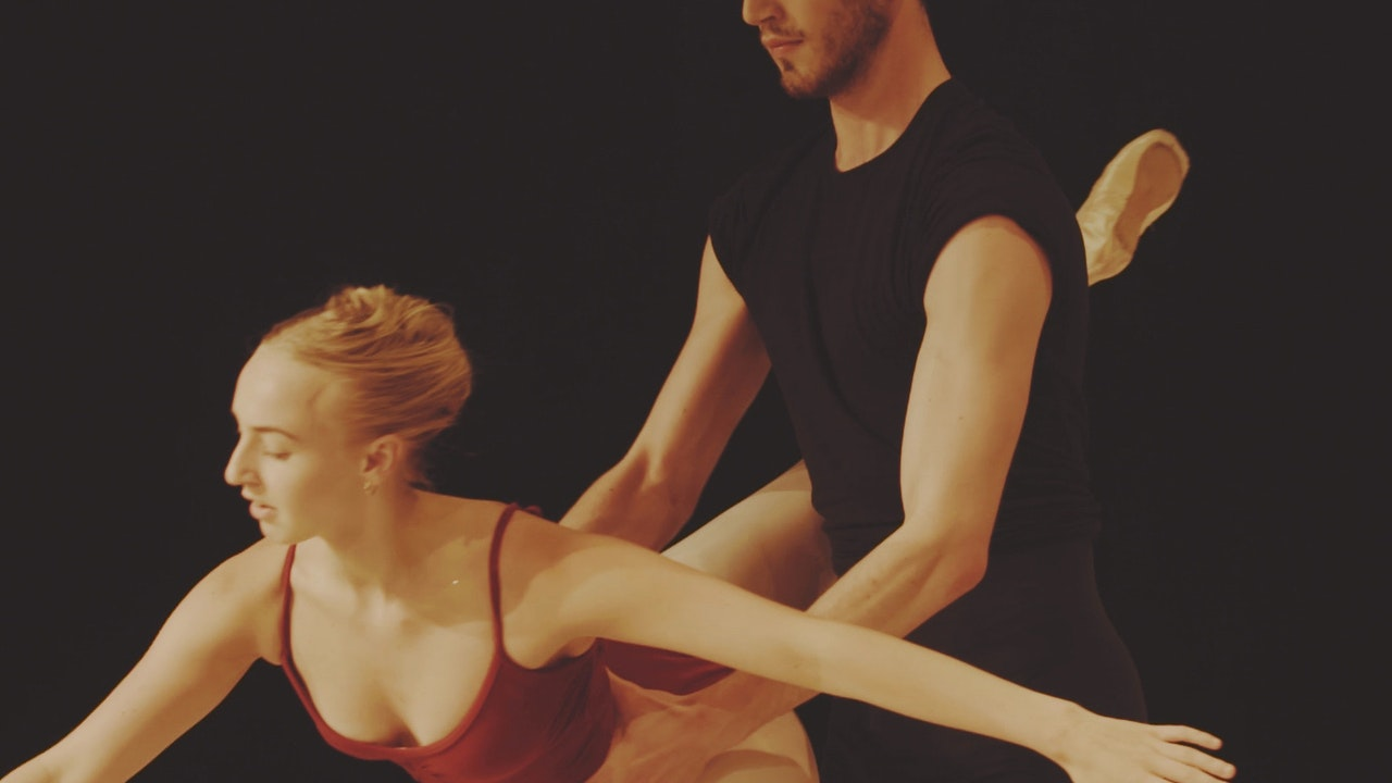Rambert Dance School Rehearses Firebird