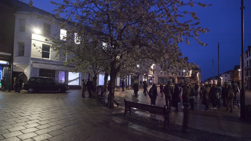 HAME - IMG_2907HAME installation, The Stove, Dumfries, 2015. Image © Colin Tennant