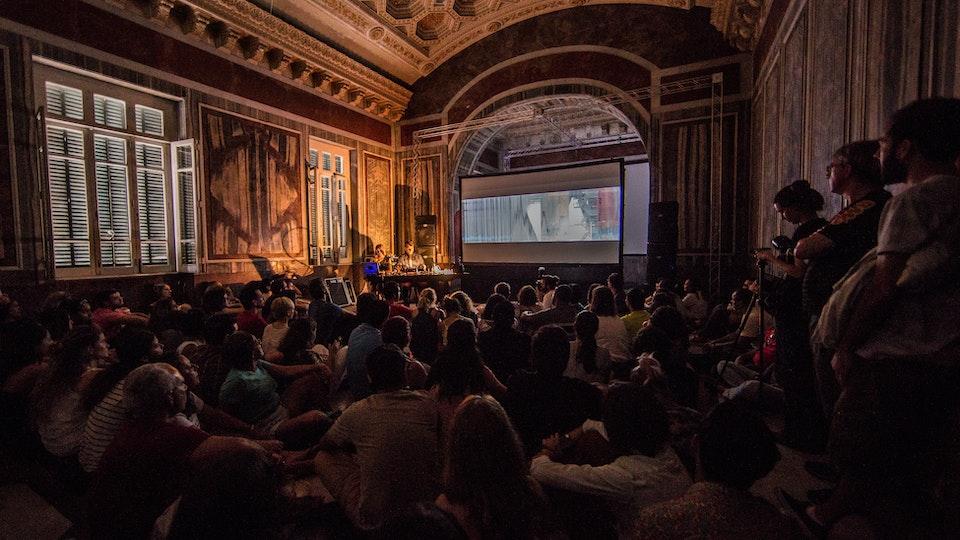 The Terrestrial Sea - The Terrestrial Sea. Live performance at Multiplicidad Festival, Rio, 2014