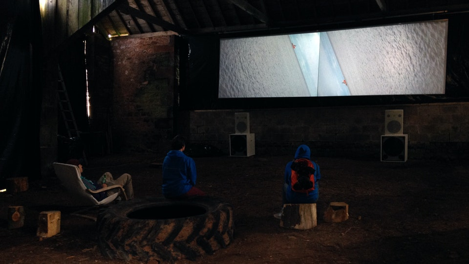 The Terrestrial Sea The Terrestrial Sea. Installation at Environmental Art Festival Scotland, Dumfries & Galloway, 2015