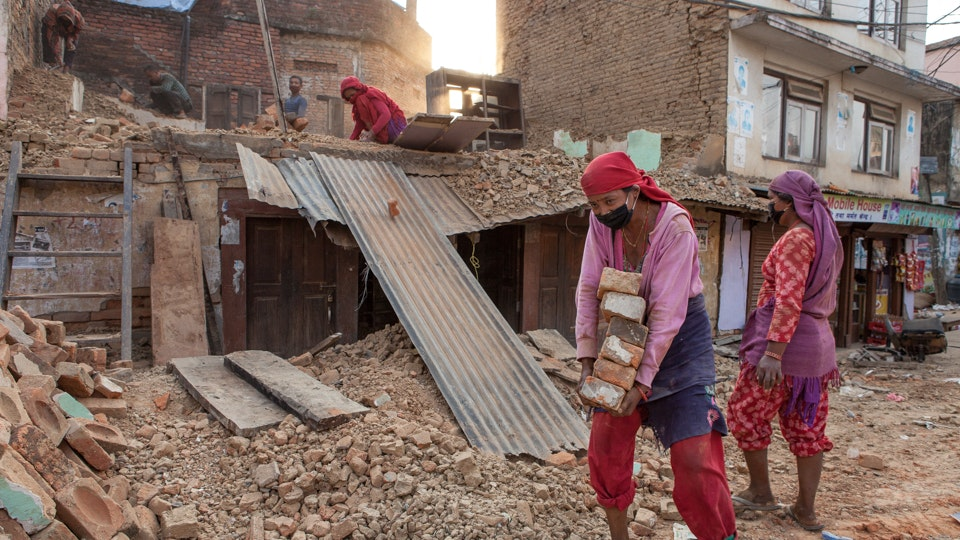After the Earthquake in Nepal