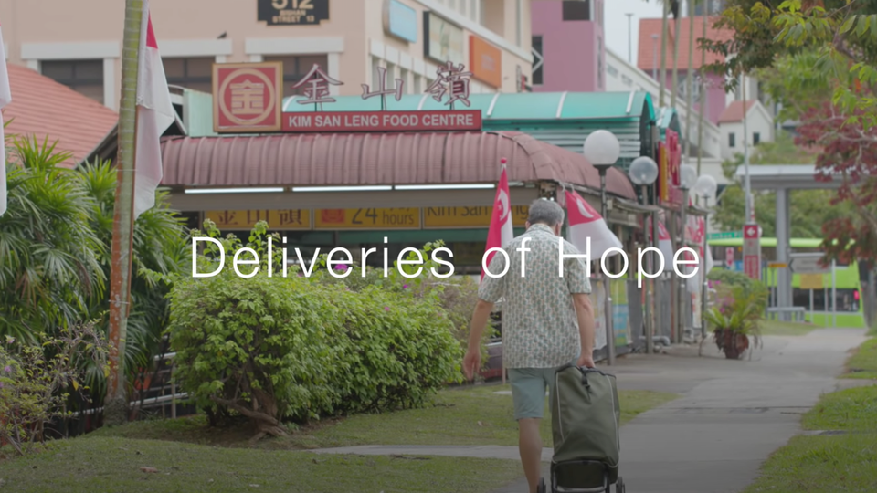 Deliveries of Hope in Singapore's lockdown