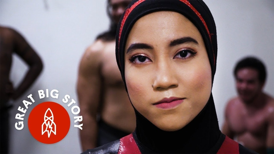 Meet Wrestling's First Hijab-Wearing Competitor