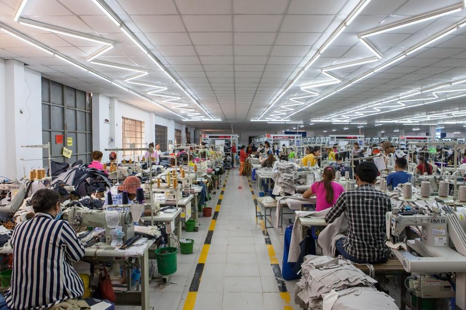 GIZ, garment factory in Phnom Penh 1