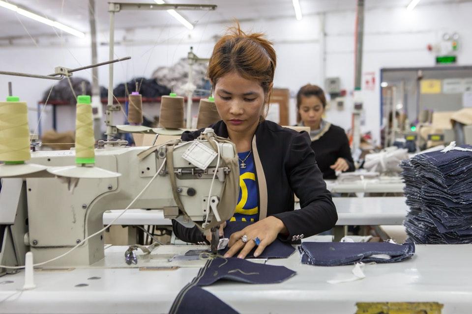 GIZ, garment factory in Phnom Penh 2