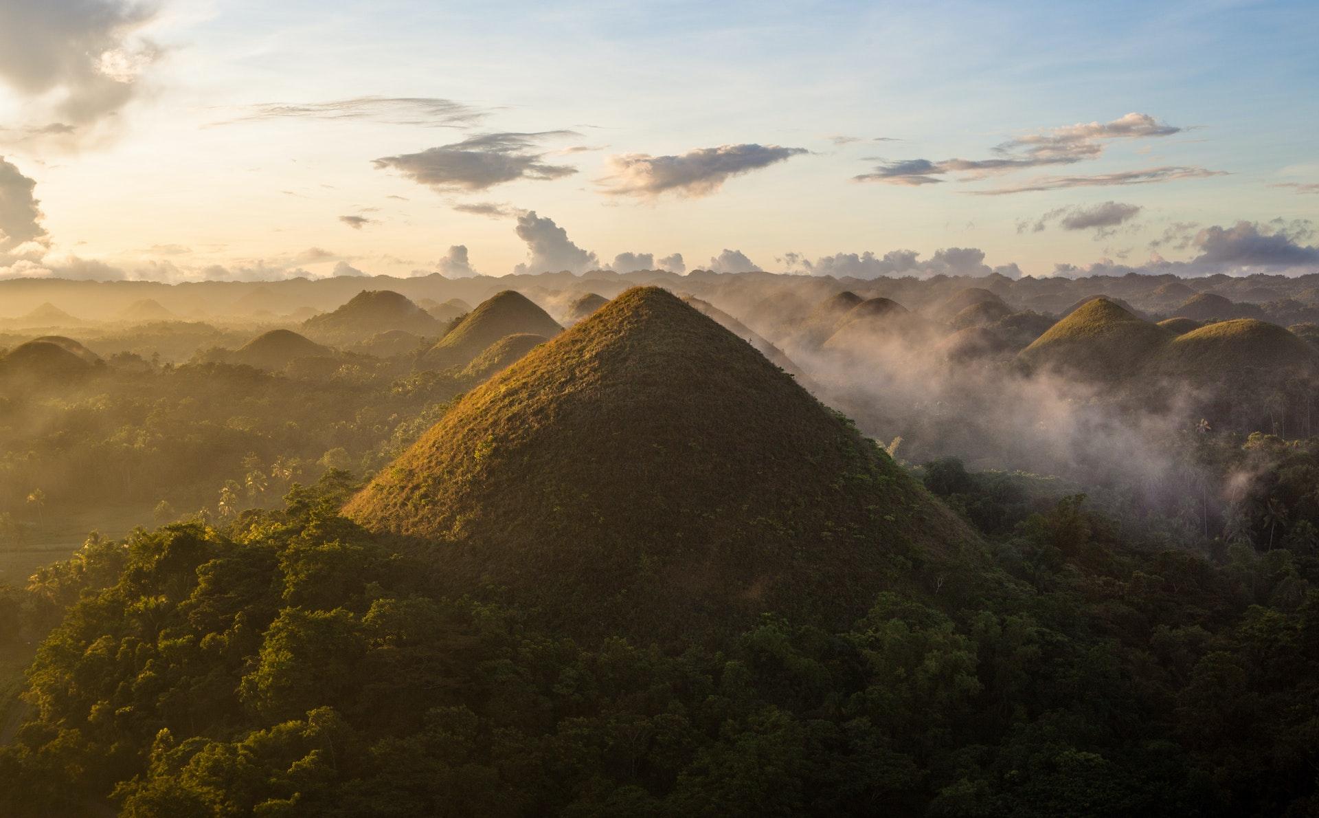 Chocolate Hills - Bohol, The Philippines