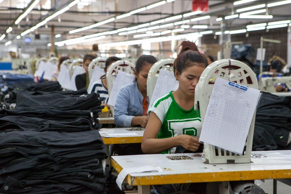 GIZ, garment factory in Phnom Penh