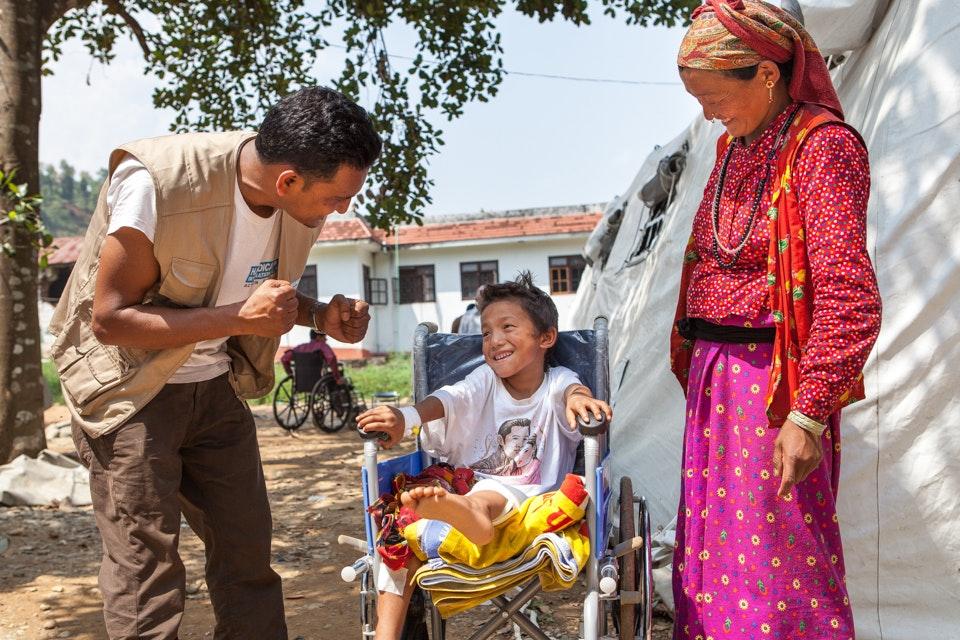 Nepal, Handicap International