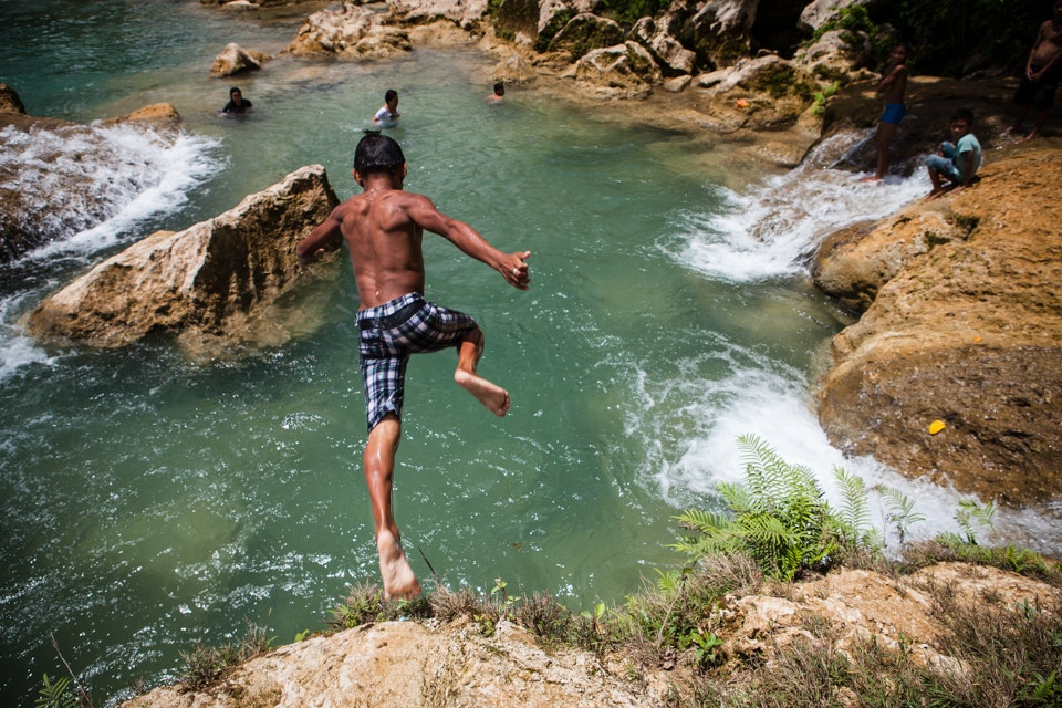 Jump in Davao, The Philippines