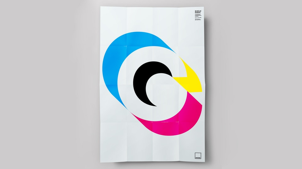 PANTONE CRITICAL COLORS POSTER