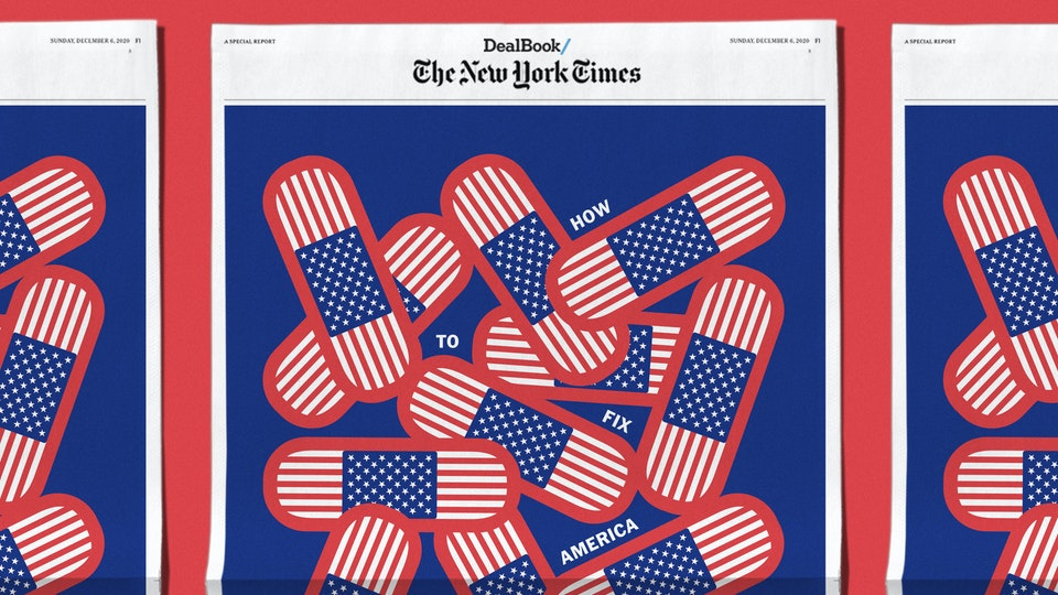 NEW YORK TIMES, HOW TO FIX AMERICA COVER
