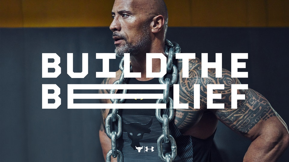 UNDER ARMORS: BUILD THE BELIEF