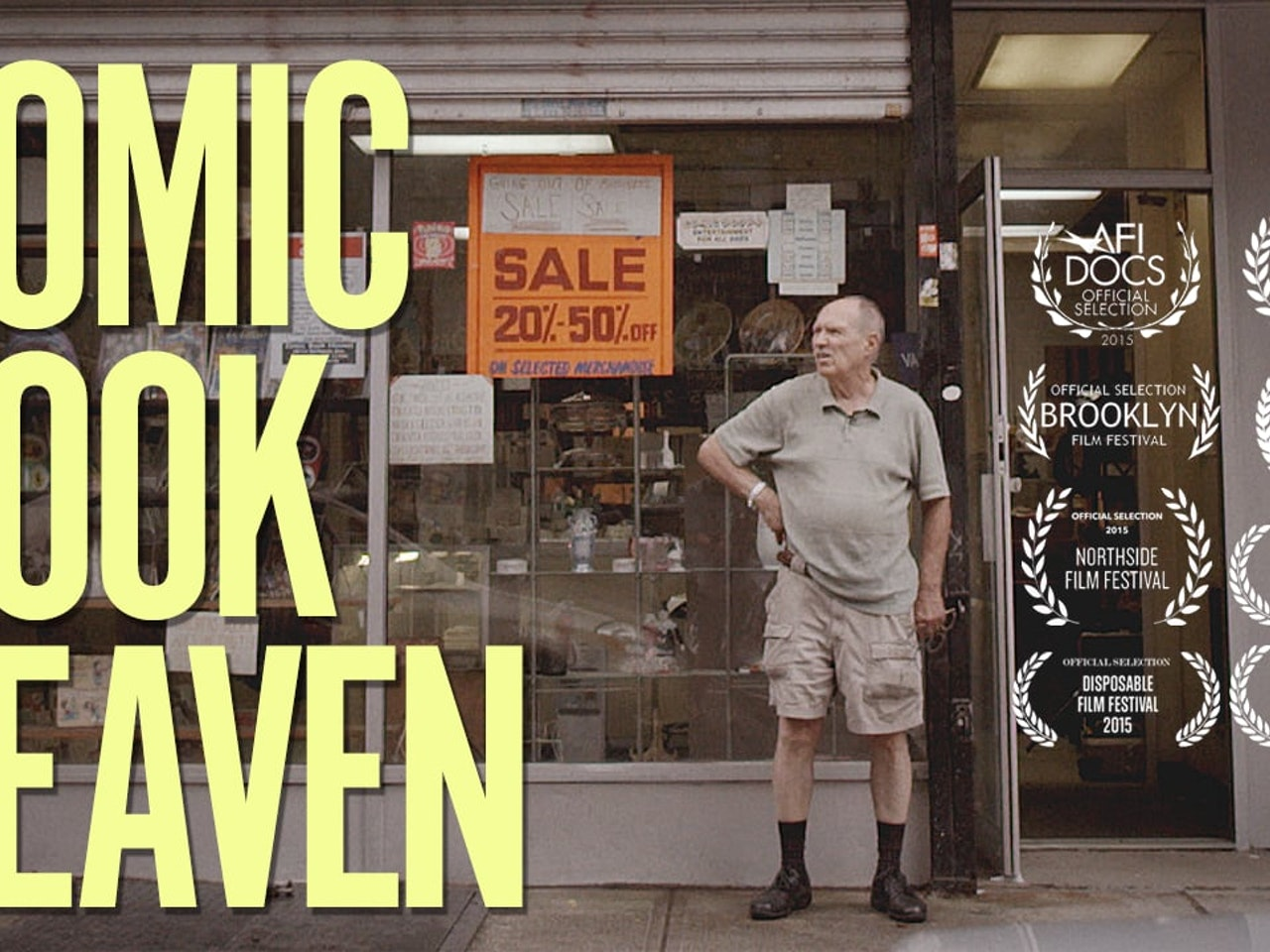 Comic Book Heaven- Trailer