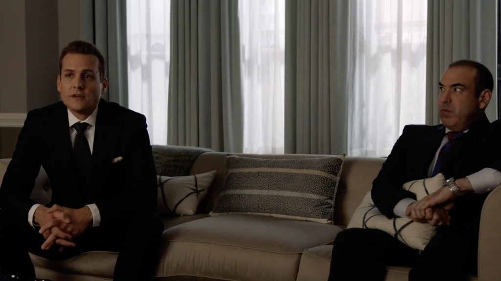 Suits 806 - Harvey & Rick go to therapy