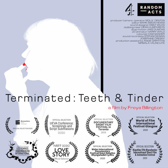 CO-PRODUCER | terminated: teeth & tinder (C4 Random Acts)