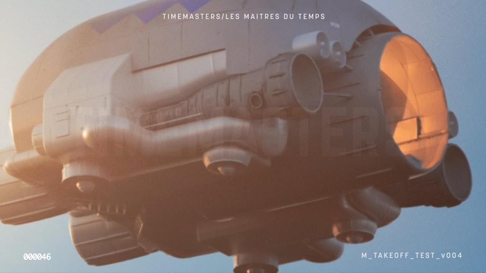Les Maitres du Temps/Time Masters
