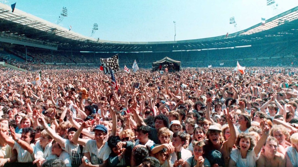 50 Most Influential Projects: Live Aid (short doc)