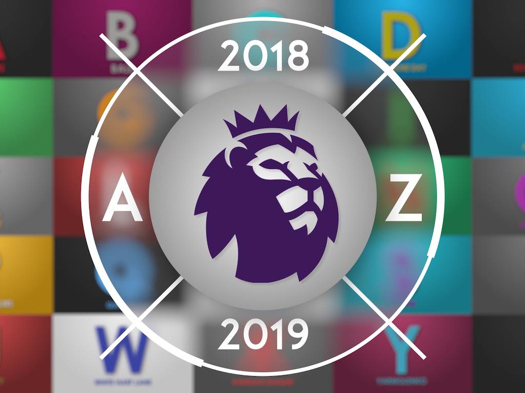 Premier League Alphabet