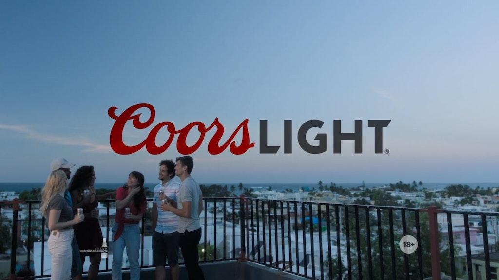 "COORS LIGHT ""THE SIXTH MAN"""