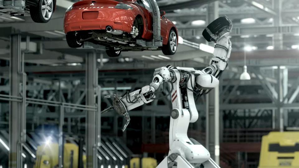 Mitsubishi 'Robot Factory'