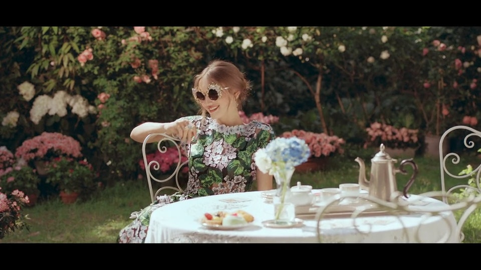 Andrea Pecora - Dolce & Gabbana - Ortensie