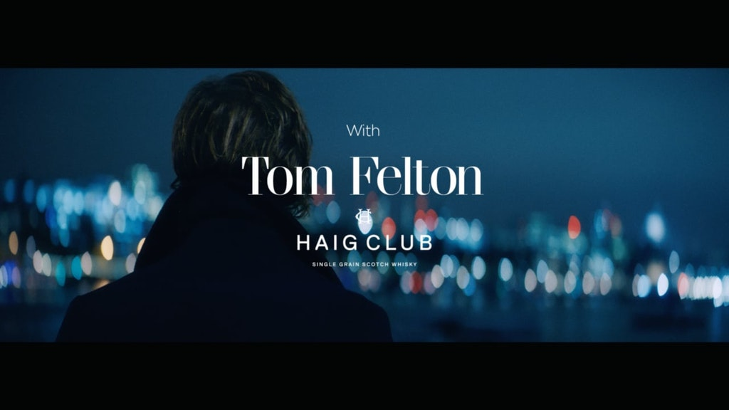 GQ x Haig Club - Tom Felton