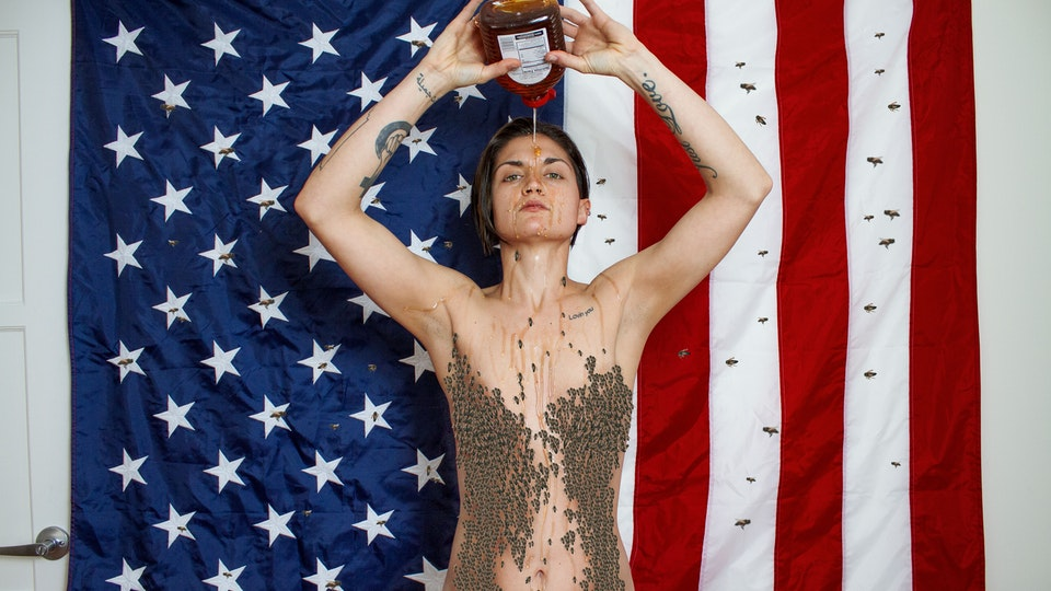 Self Portraits - If you're desperate for attention use honey, not America.