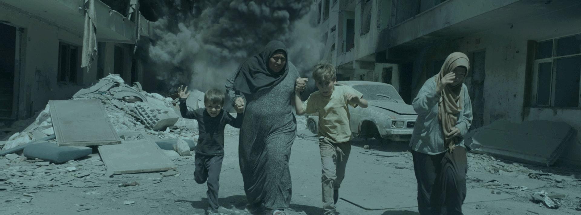 Aleppo bombing sequence