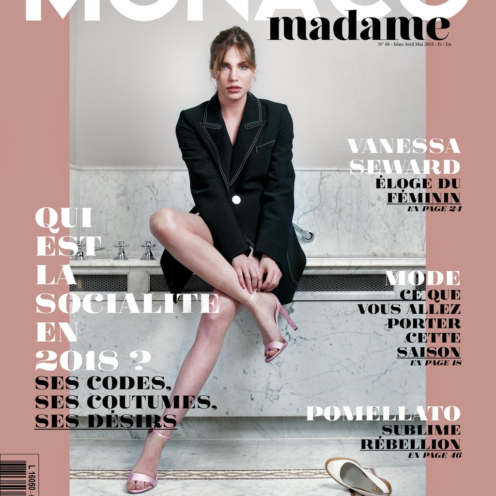 Monaco Madame issue#68                                              (Cover and editorial)