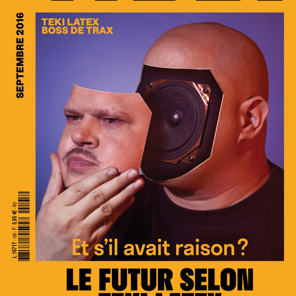TRAX Magazine-195- TEKI LATEX (COVER AND EDITORIAL)