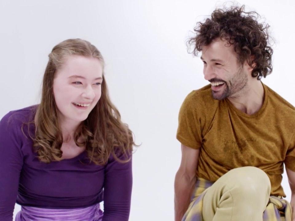 short dance film_   Unspoken Spoken Alice's Story - Candoco's Unspoken Spoken feat. Jess Dowdeswell (excerpt)