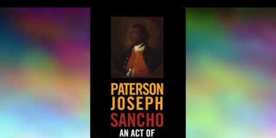 A play_   Ignatius Sancho- his music Book   Sancho: An Act of Remembrance