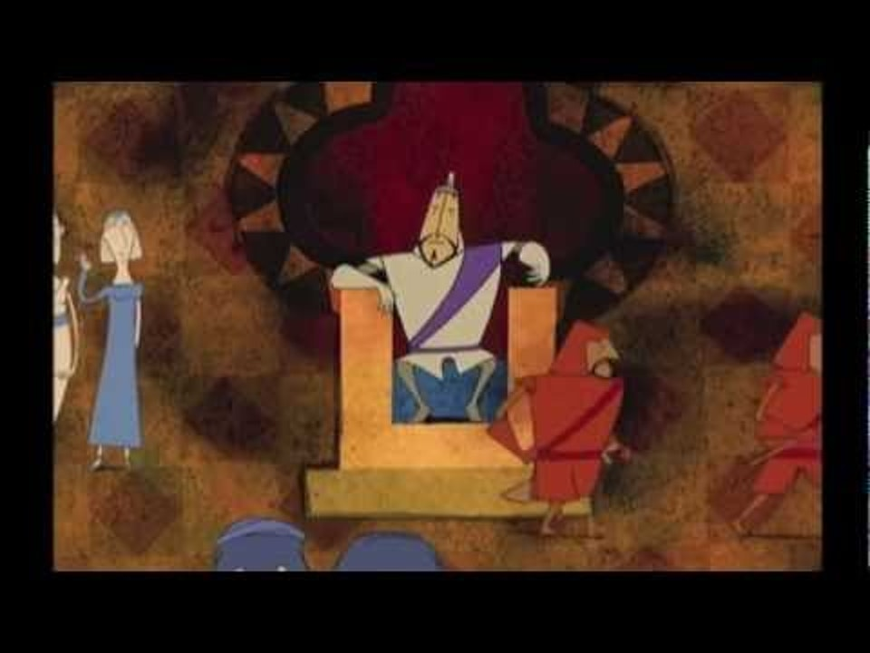 C4 animated series- Canterbury Tales The Knight's Tale - animated
