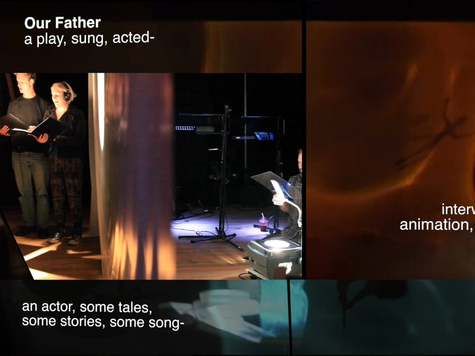 seven poem set to music._  Tales Of our Father Tales Of our Father _ In rehearsal
