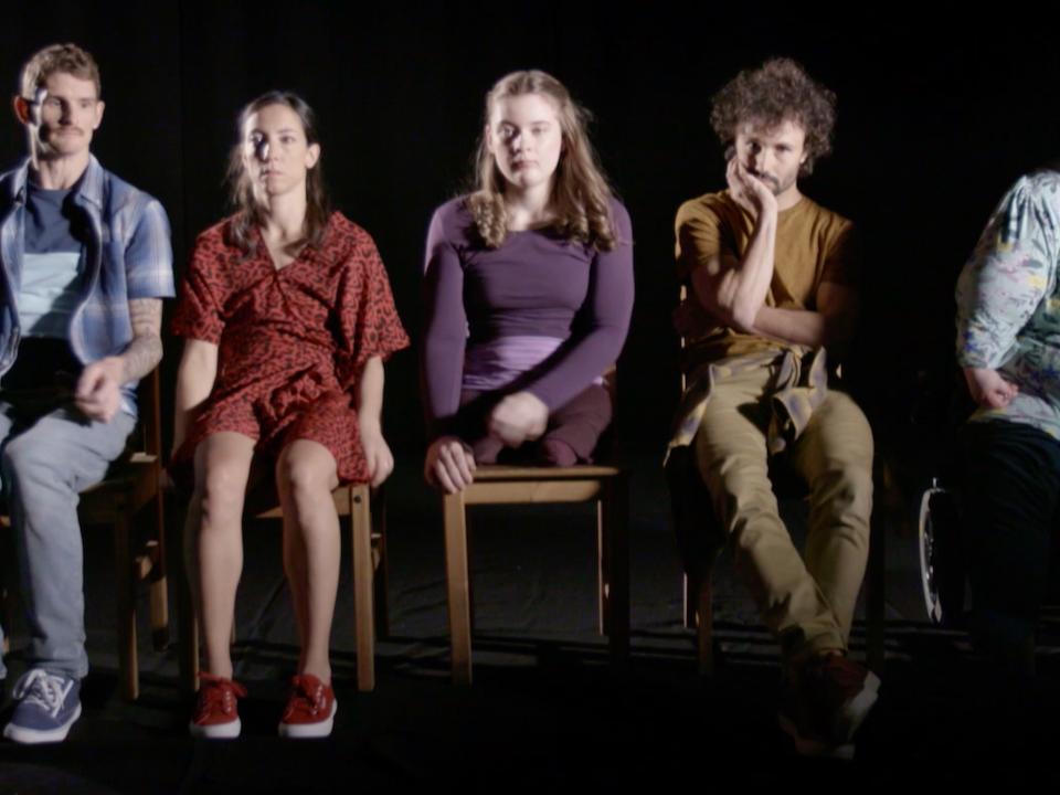 short dance film_   Unspoken Spoken Unspoken Spoken