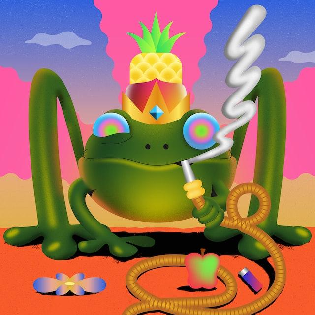 Hypnotic Frog 05