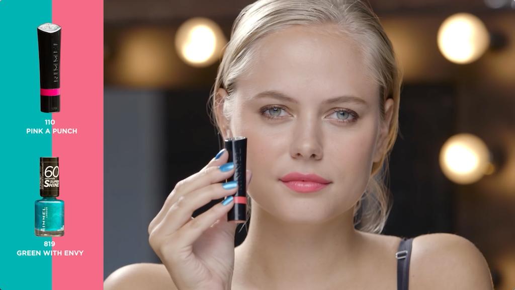 Rimmel 'On trend lips + tips'