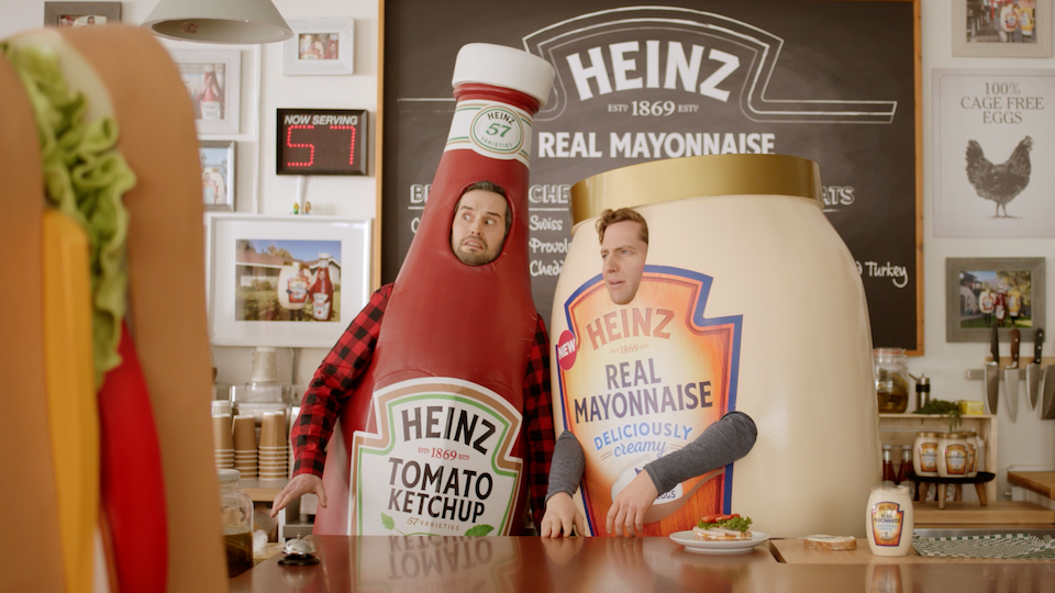 HEINZ 'New Mayo Launch'