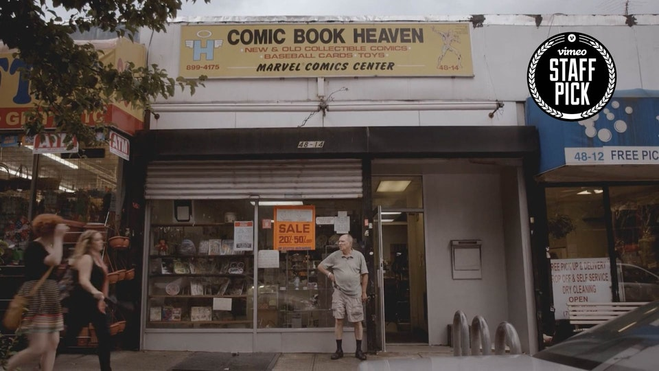 COMIC BOOK HEAVEN 'Documentary Short'